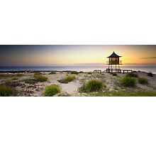 The Entrance Life Guard Tower Photographic Print