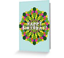 Birthday card-pattern Greeting Card