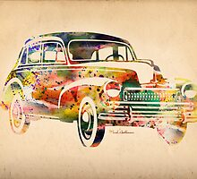 old volkswagen by mark ashkenazi