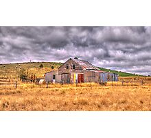 Click Go The Shears - Somewhere in Northern Victoria - The HDR Experience Photographic Print