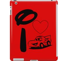 I Heart Cars Land iPad Case/Skin