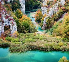 Plitvice Lakes National Park by Artur Bogacki