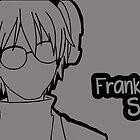 Franken Stein silhouette print by sweetsheart