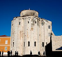 St. Donatus Church in Zadar by Artur Bogacki
