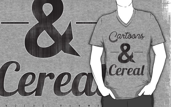 Cartoons & Cereal by Studio Ronin