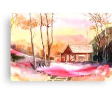 Rest house Canvas Print