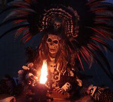 Aztec Dancer - Bailerín Azteca by Bernhard Matejka