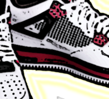 BANNED KICKS: JORDAN AIR ONES Sticker