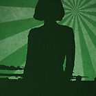 Silhouette green by Errne