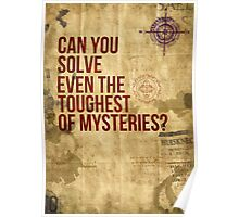 Can you Solve Even The Toughest of Mysteries? Poster
