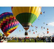 Balloon fiesta Photographic Print