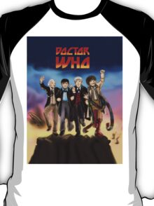'Doctor Who meets KISS' Version 1 T-Shirt