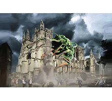 krynoid at canterbury cathedral Photographic Print
