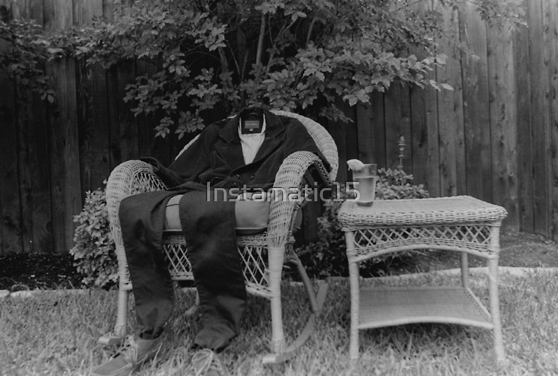 The Invisible Man Photographic Print by Instamatic15