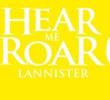 Game of Thrones - Lannister house Sticker