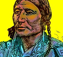 CHIEF BLACK HAWK OF THE UTE by OTIS PORRITT