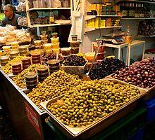 Mountains Of Olives - Jerusalem by Mary Ellen Garcia
