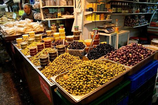 Mountains Of Olives - Jerusalem by Mary Ellen Garcia