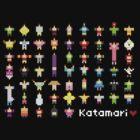 Katamari Pixel Party by rydiachacha
