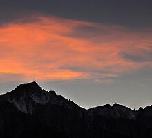 Mt Whitney at Sunset by Chris Whitney