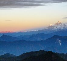 Himalayan Sunrise by Harry Oldmeadow