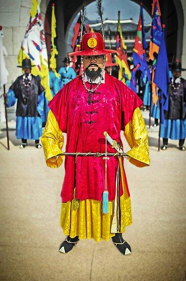 The Changing of the Guard at Gyeongbokgung Palace by TonyCrehan
