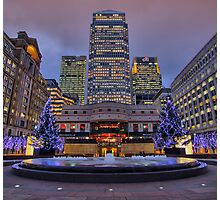 Canary Wharf - London - 4 - HDR Photographic Print