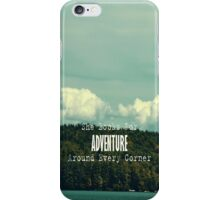 She Looks for Adventure  iPhone Case/Skin