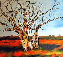 Outback Boabs by gillsart