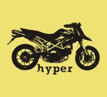 Duc Hypermotard redux by Teri B