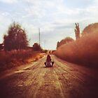Road  by annapozarycka