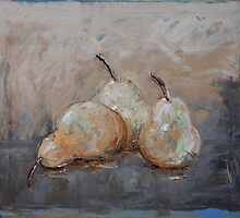 Three Pears by Chris Elsden