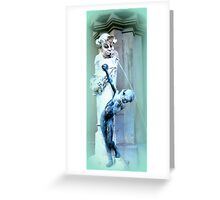 Brunnenbuberl am Stachus Greeting Card