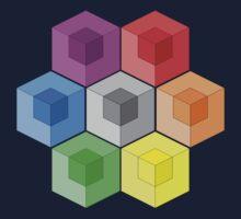 Cube Rainbow by FentonBailey
