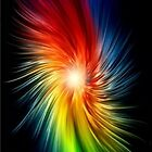 Color Spiral Iphone Case by MrFlashLawl