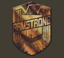 Custom Dredd Badge - (Armstrong)  by CallsignShirts