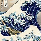The Great Wave off Kanagawa by VintageInk
