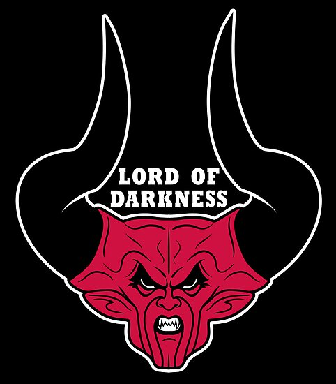 Lord of Darkness on Black by popnerd