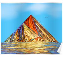 Pyramid Mountain No 2 Poster