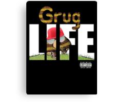 Grug Life Canvas Print