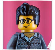Morrissey Portrait Poster