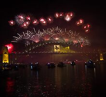 NYE 2013 FIREWORKS | SYDNEY HARBOUR BRIDGE by RedDash