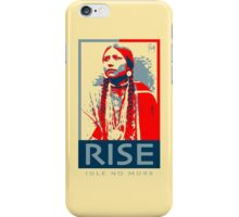 RISE - Idle No More - by Aaron Paquette iPhone Case/Skin