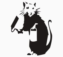 BANKSY RAT by 2piu2design