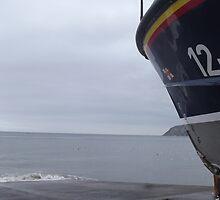 RNLI Life boat Llandudno by janeysmurf