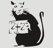 BANKSY RAT 2+2 by 2piu2design