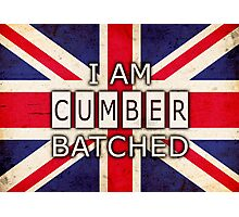 I AM CUMBERBATCHED (UK Edition) Photographic Print