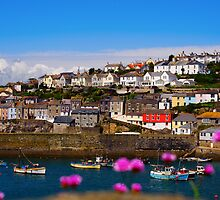 Historic fishing port of Mevagissey. by Paulant