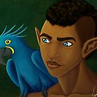 Elf and Bird by Shakira Rivers