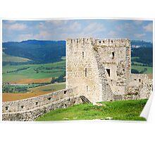 Spissky Castle, Slovakia Poster